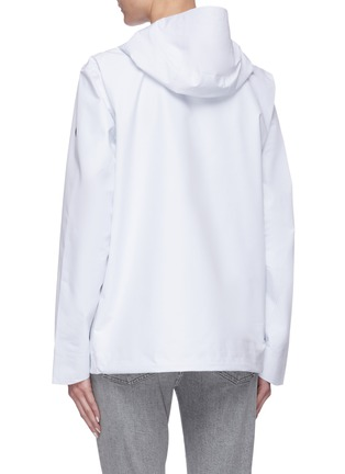 Back View - Click To Enlarge - SAVE THE DUCK - 'Iconx' Hooded short shell jacket