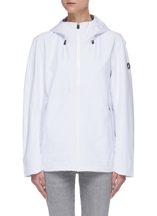 Main View - Click To Enlarge - SAVE THE DUCK - 'Iconx' Hooded short shell jacket