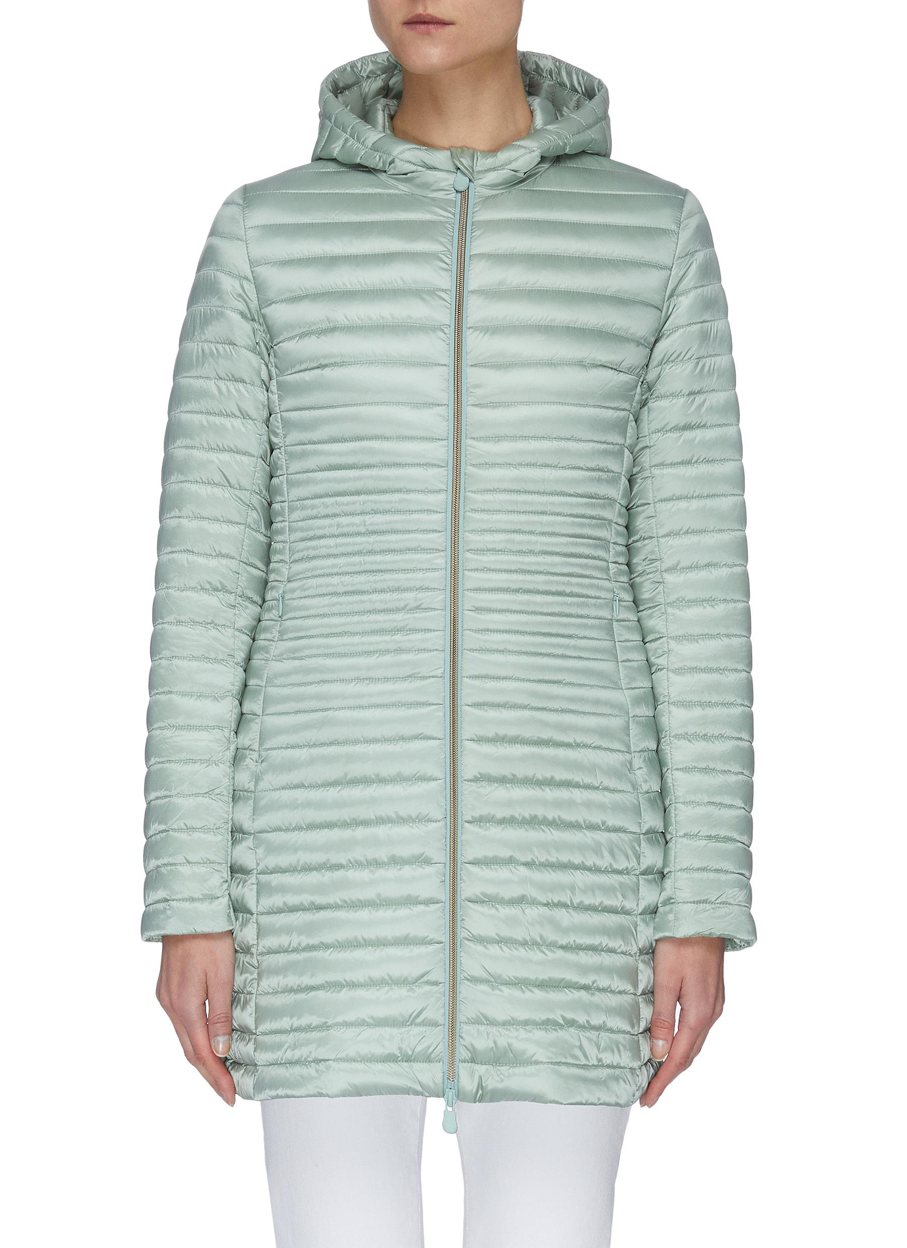 Buy Save The Duck Jackets 'Irisx' hooded nylon down jacket
