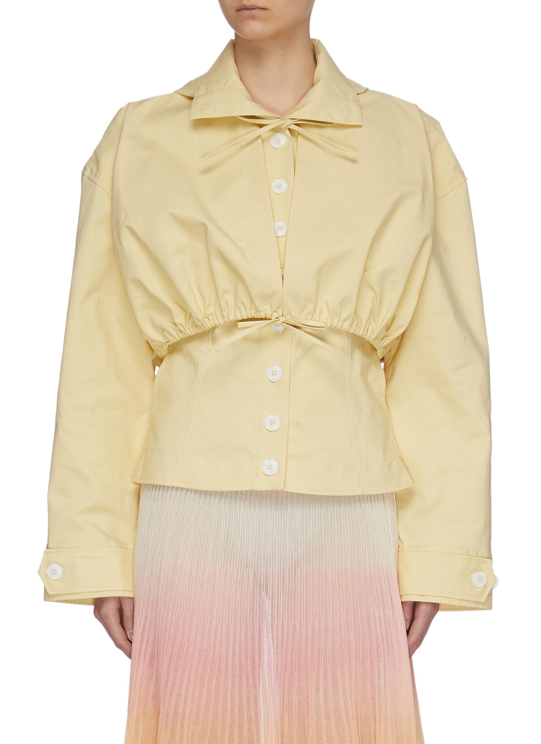 Buy Jacquemus Jackets Layered button up jacket
