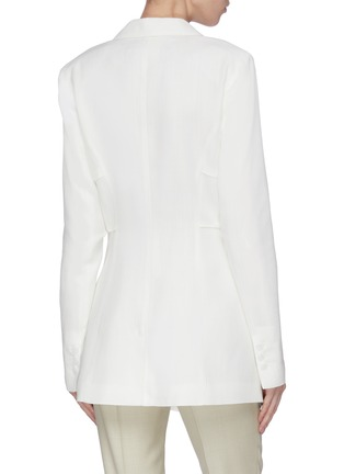 Back View - Click To Enlarge - JACQUEMUS - Double Breasted Blazer