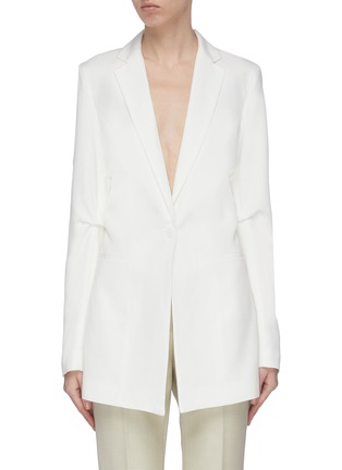 Main View - Click To Enlarge - JACQUEMUS - Double Breasted Blazer
