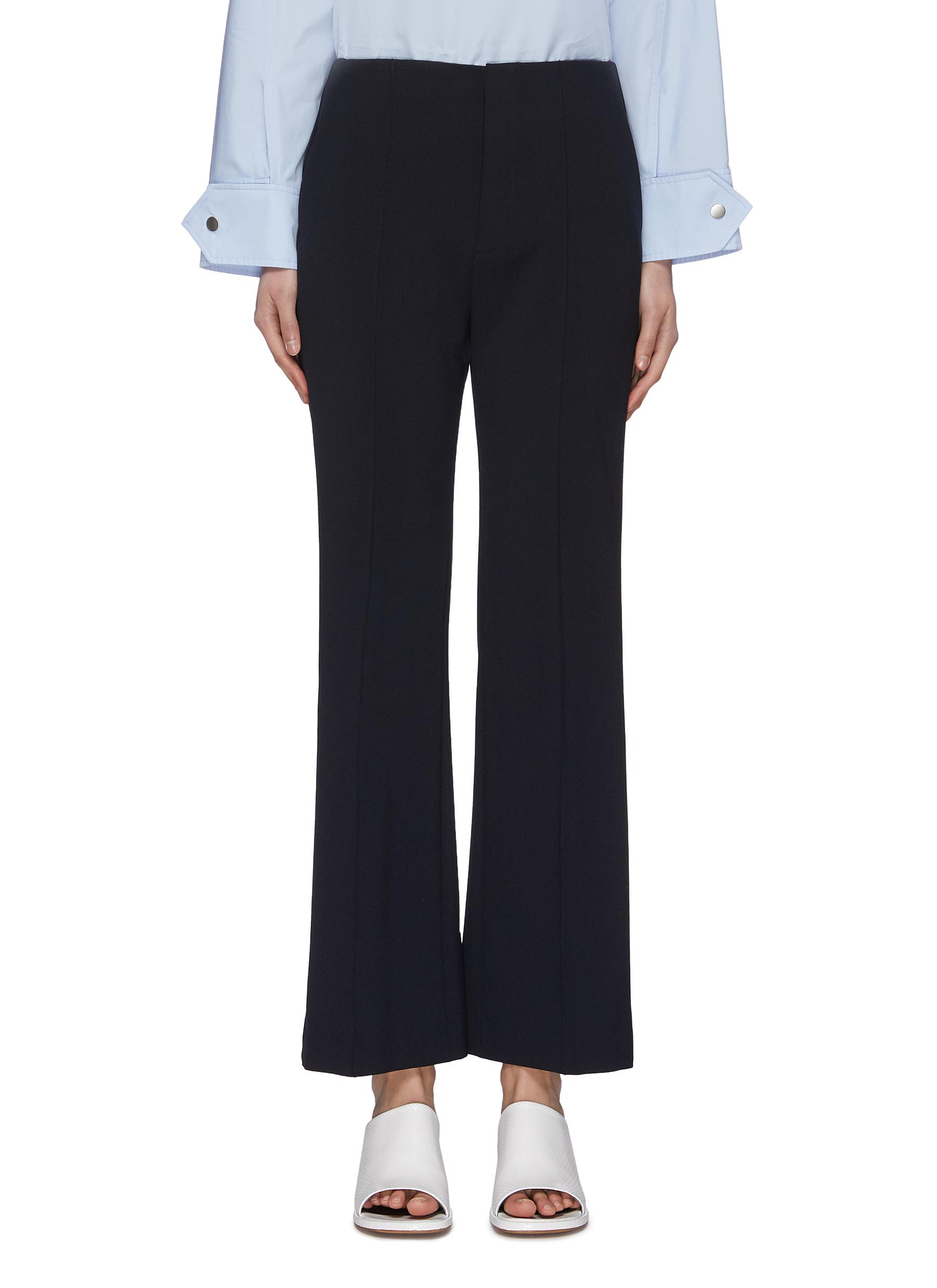 shop Portspure Snap Cuff Flared Pants online