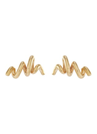 Main View - Click To Enlarge - SARAH & SEBASTIAN - 'Fine bound' 10k gold earrings