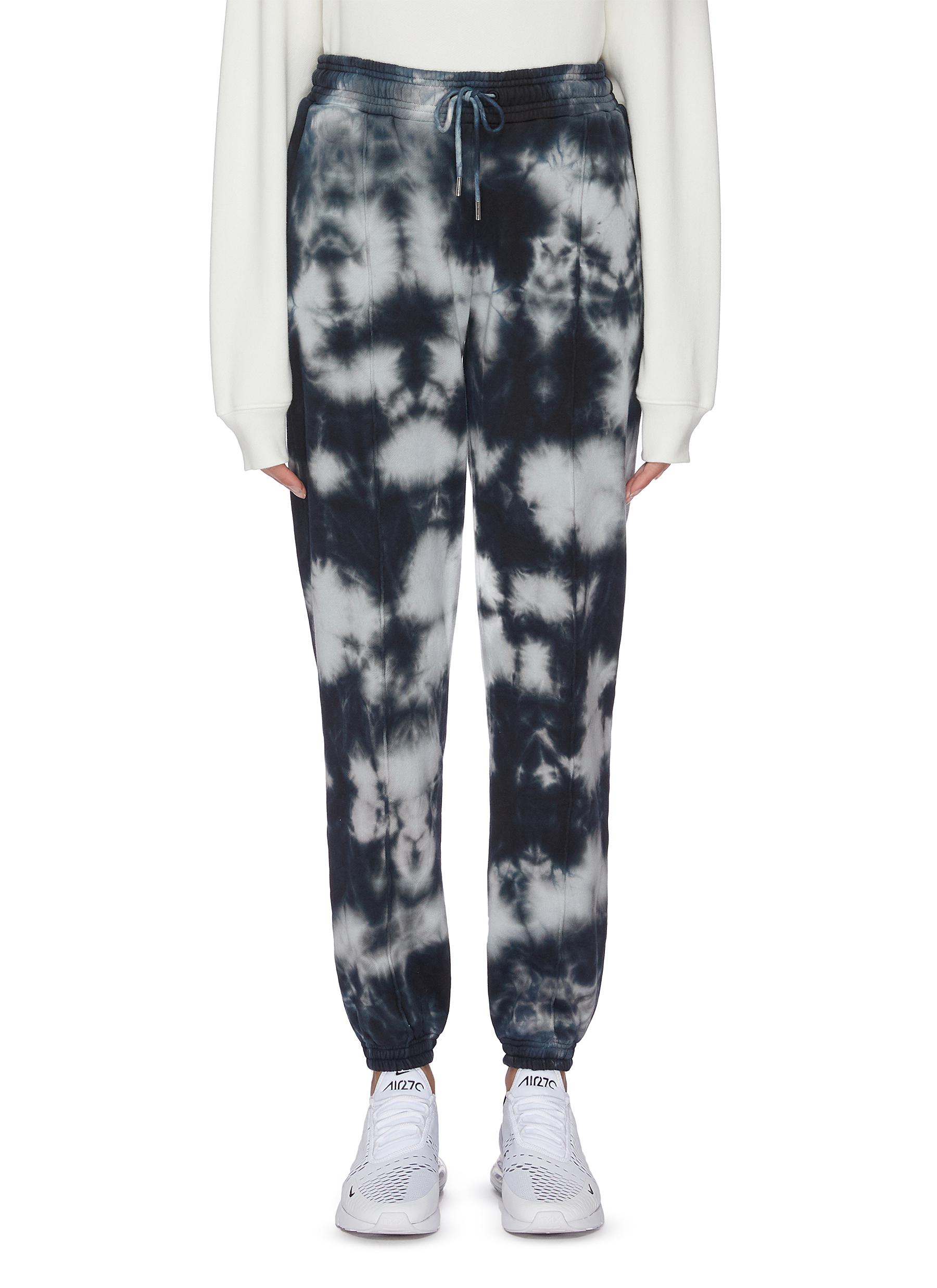 shop Ninety Percent Tie dye sweatpants online