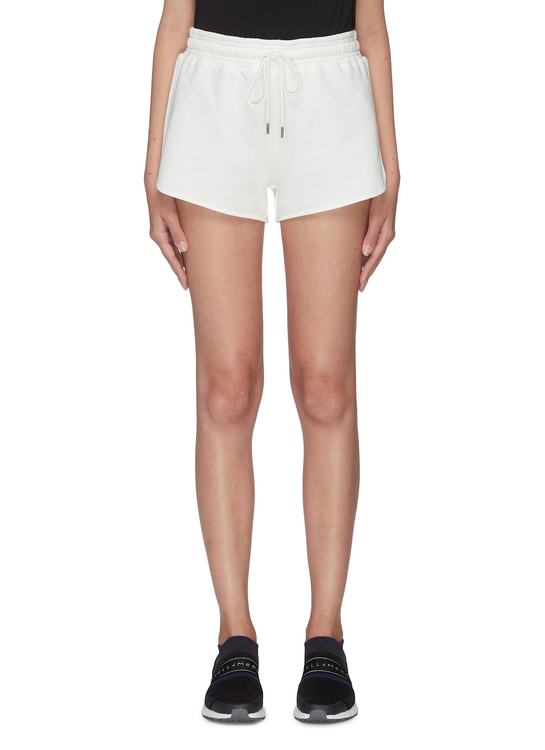 shop Ninety Percent 'Farrah' cotton running shorts online