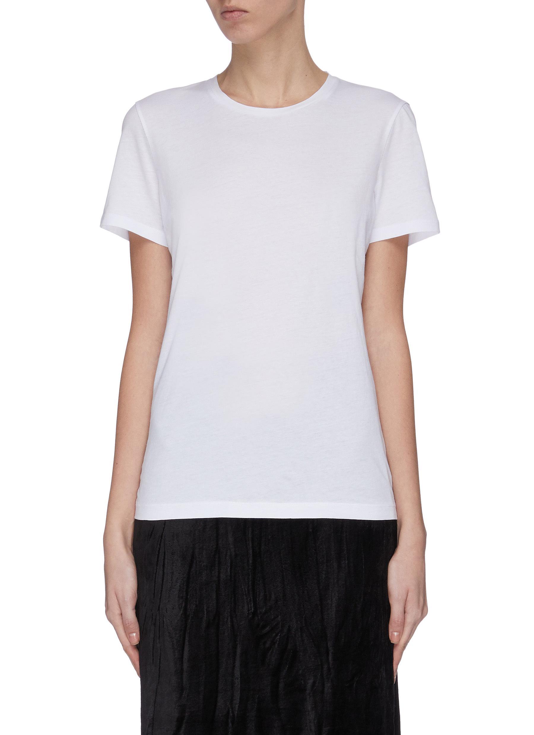 shop Ninety Percent 'Block 2B-24' Crewneck T-shirt online