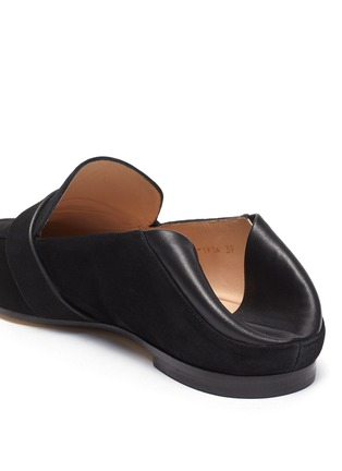 - STUART WEITZMAN - Wylie' collapsible counter suede loafers