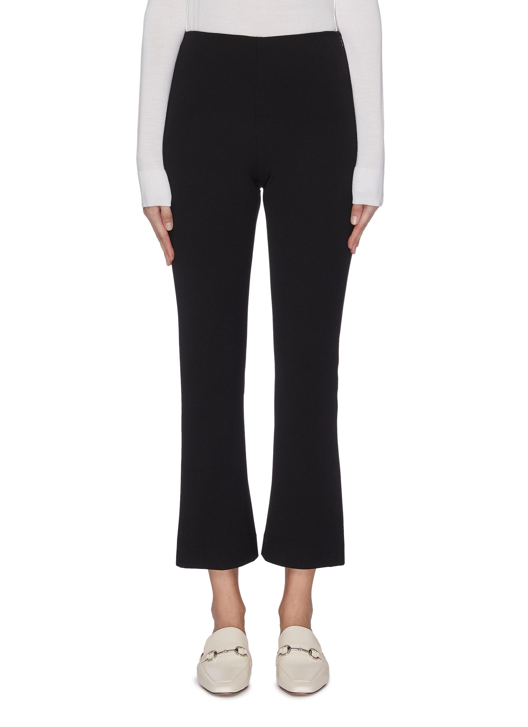 Buy Vince Pants & Shorts Flare cropped tailored pants