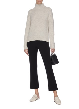 Figure View - Click To Enlarge - VINCE - Flare cropped tailored pants
