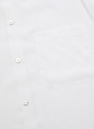 - VINCE - Pleated shoulder blouse