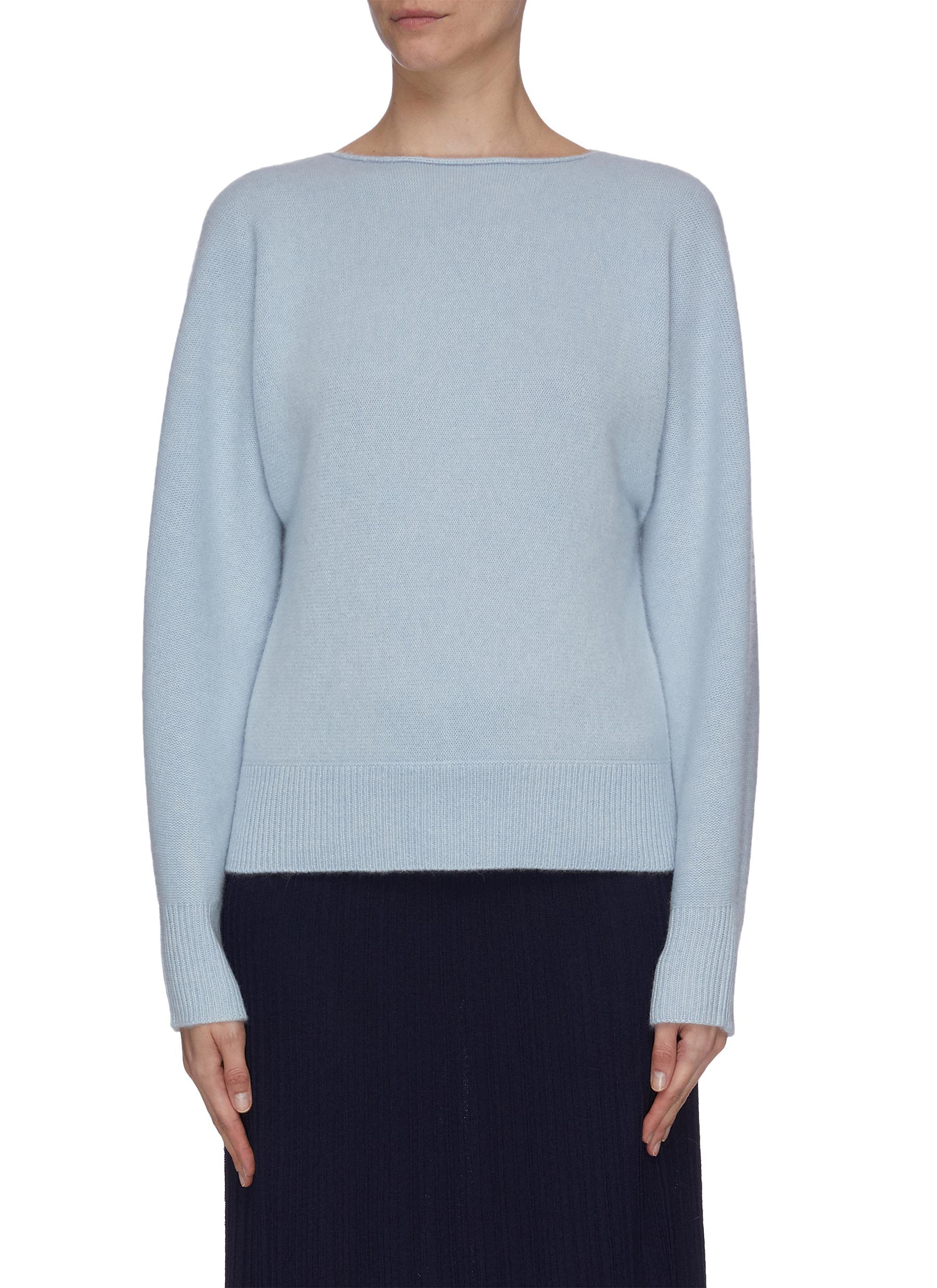 Buy Vince Knitwear 'Dolman' boatneck cashmere sweater