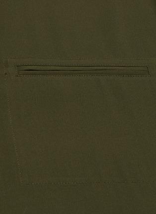 - VINCE - Short sleeve satin blouse