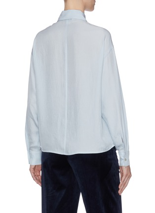 Back View - Click To Enlarge - VINCE - Chest pocket shirt