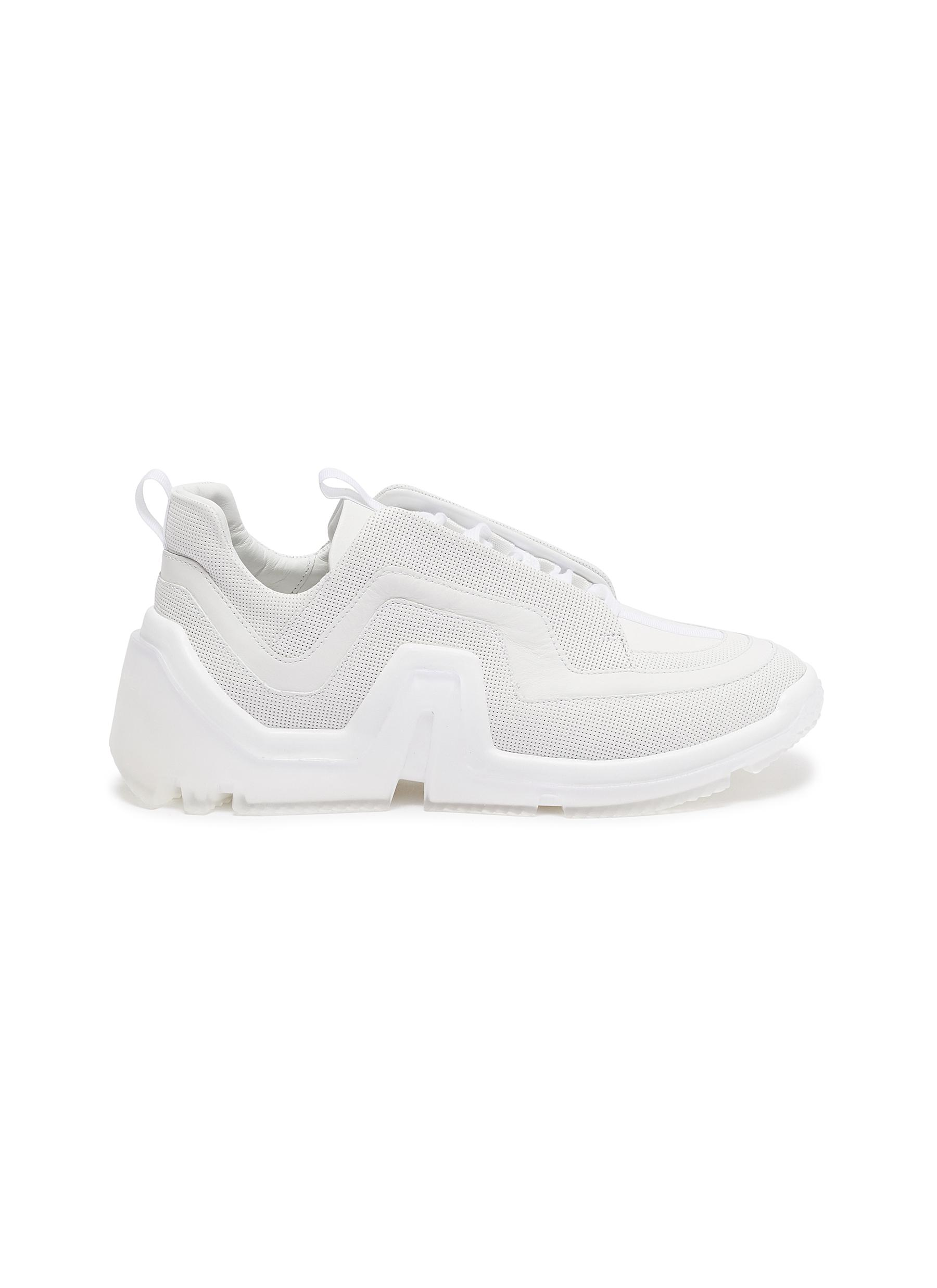 Vibe' perforated leather sneakers - PIERRE HARDY - Modalova