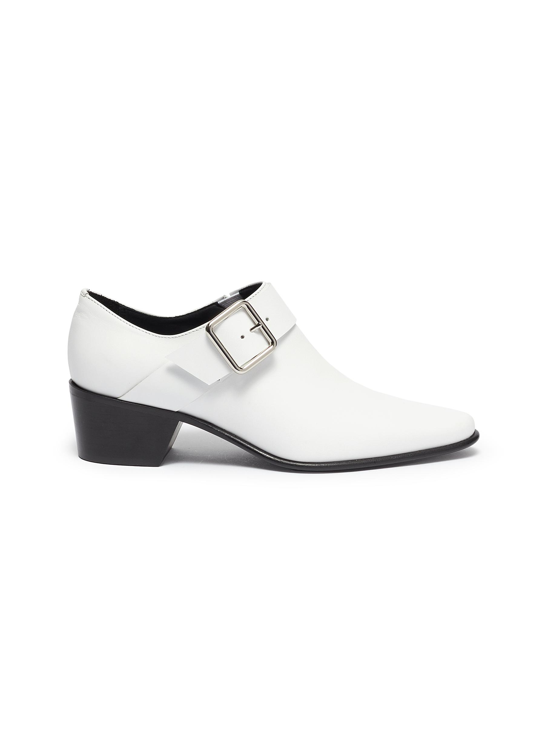 Pierre Hardy Low Heels Joni calfskin leather loafers