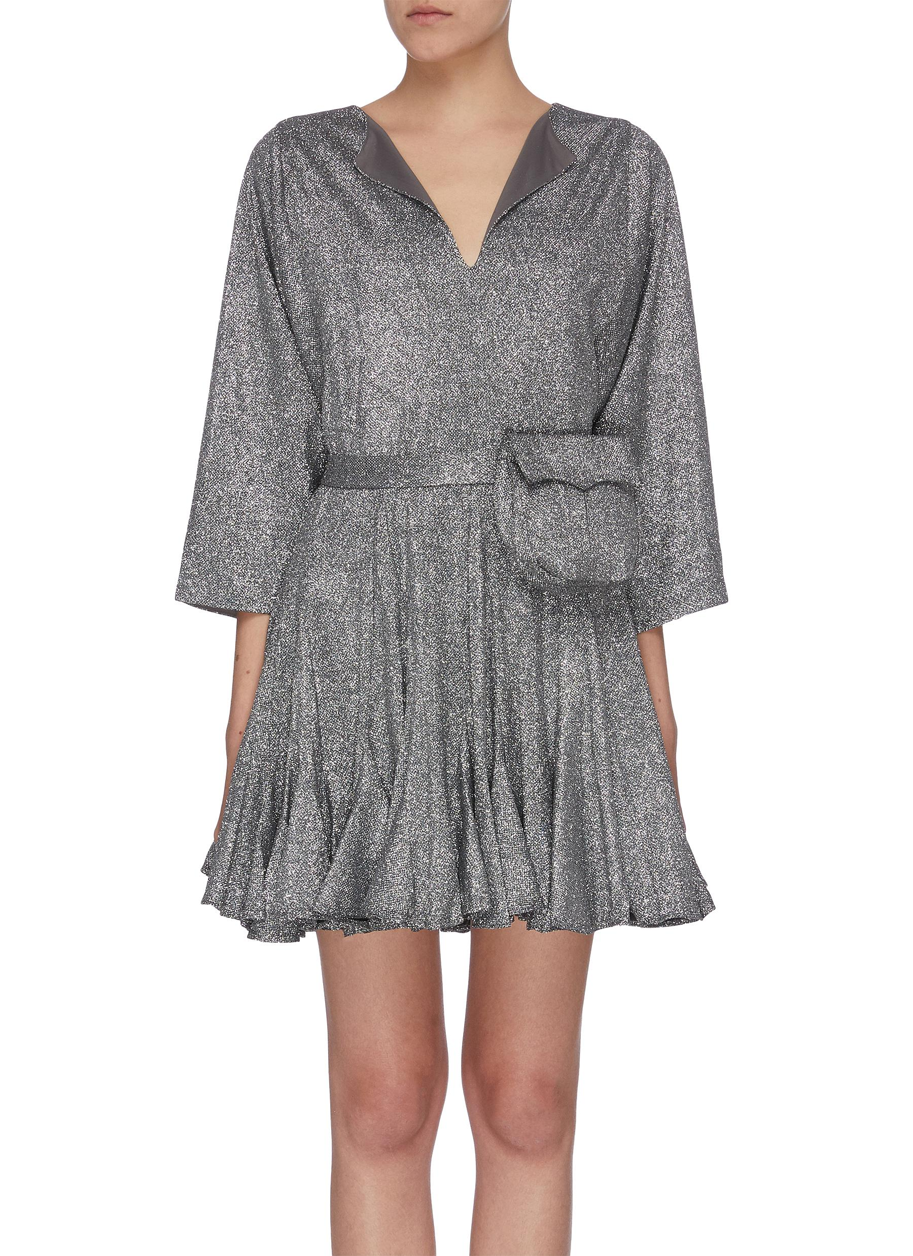 Buy Rhode Resort Dresses 'Ryan' fluted hem mini dress