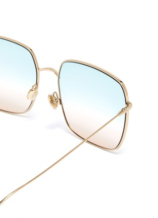 Detail View - Click To Enlarge - DIOR - 'DiorStellaire1' square frame gradient sunglasses