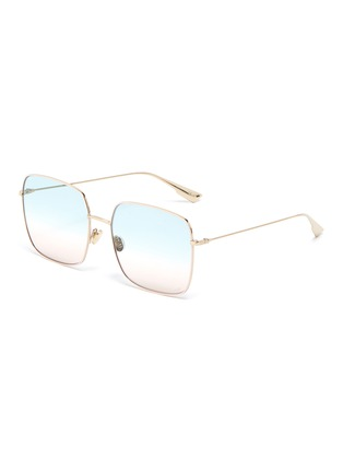 Main View - Click To Enlarge - DIOR - 'DiorStellaire1' square frame gradient sunglasses