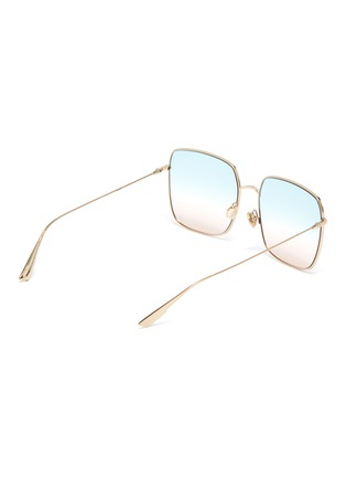 Figure View - Click To Enlarge - DIOR - 'DiorStellaire1' square frame gradient sunglasses
