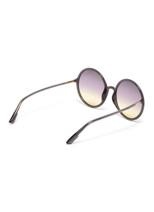 Figure View - Click To Enlarge - DIOR - 'DiorSoStellaire3' oversized round gradient sunglasses