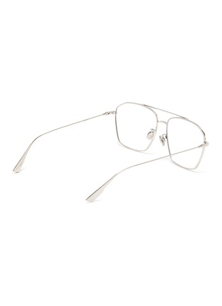 Figure View - Click To Enlarge - DIOR - 'DiorStellaire O14F' metal frame aviator optical glasses