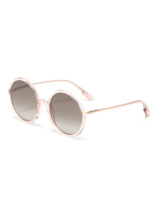 Main View - Click To Enlarge - DIOR - 'Diorsostellaire3' acetate frame oversized round gradient sunglasses