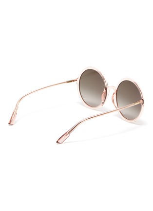 Figure View - Click To Enlarge - DIOR - 'Diorsostellaire3' acetate frame oversized round gradient sunglasses