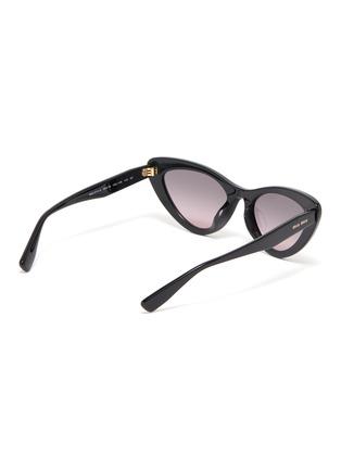 Figure View - Click To Enlarge - MIU MIU - Acetate Frame Cateye Sunglasses