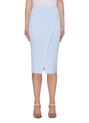 Main View - Click To Enlarge - CRUSH COLLECTION - Slit midi skirt