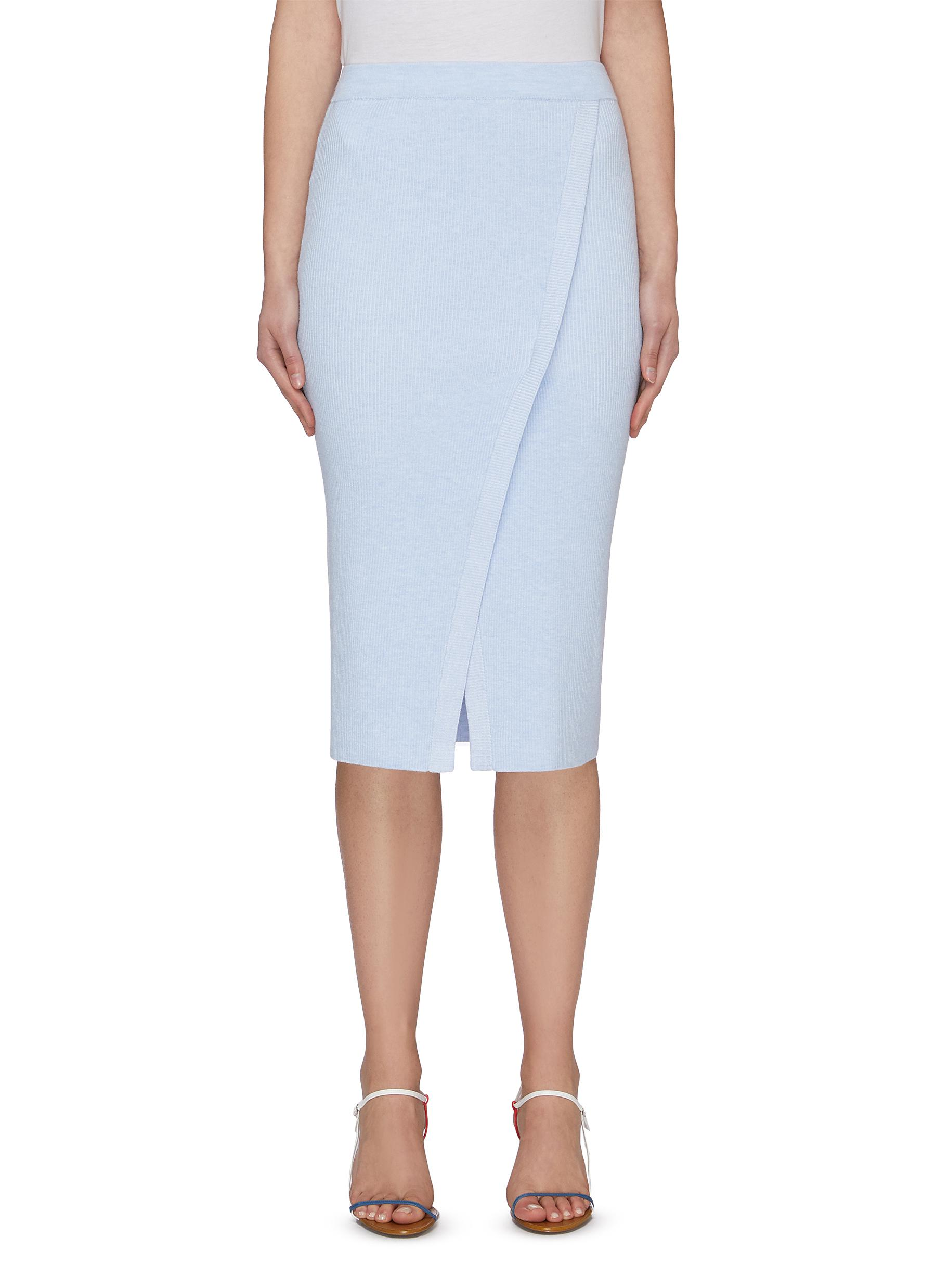 shop Crush Collection Slit midi skirt online
