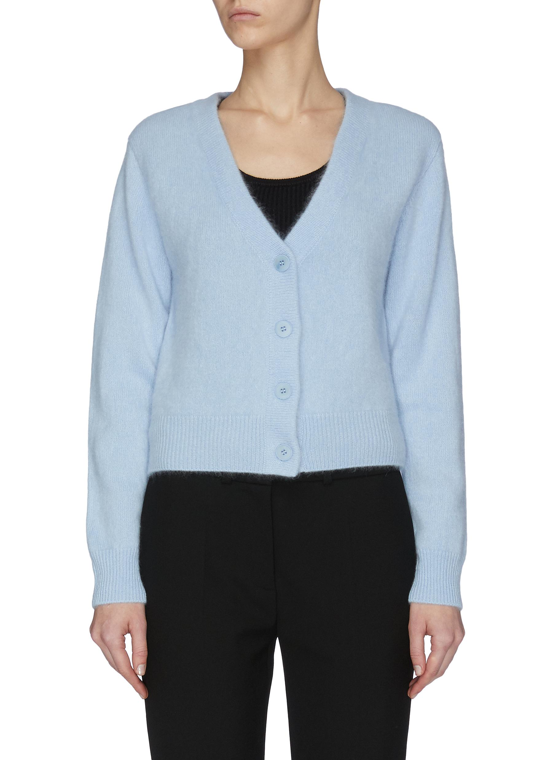 shop Crush Collection Crop cashmere cardigan online