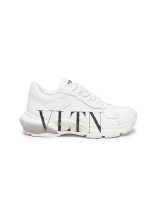 Main View - Click To Enlarge - VALENTINO - Valentino Garavani 'Bounce' leather sneakers