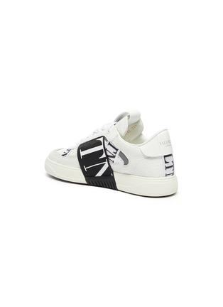 - VALENTINO - Valentino Garavani logo embossed contrast stripe sneakers