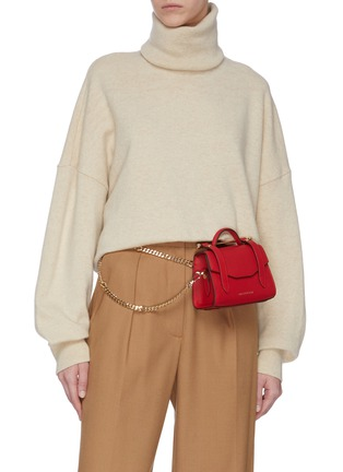 Front View - Click To Enlarge - STRATHBERRY - ALLEGRO MICRO' SATCHEL STYLE CROSSBODY BAG