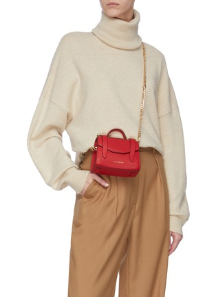 Figure View - Click To Enlarge - STRATHBERRY - ALLEGRO MICRO' SATCHEL STYLE CROSSBODY BAG