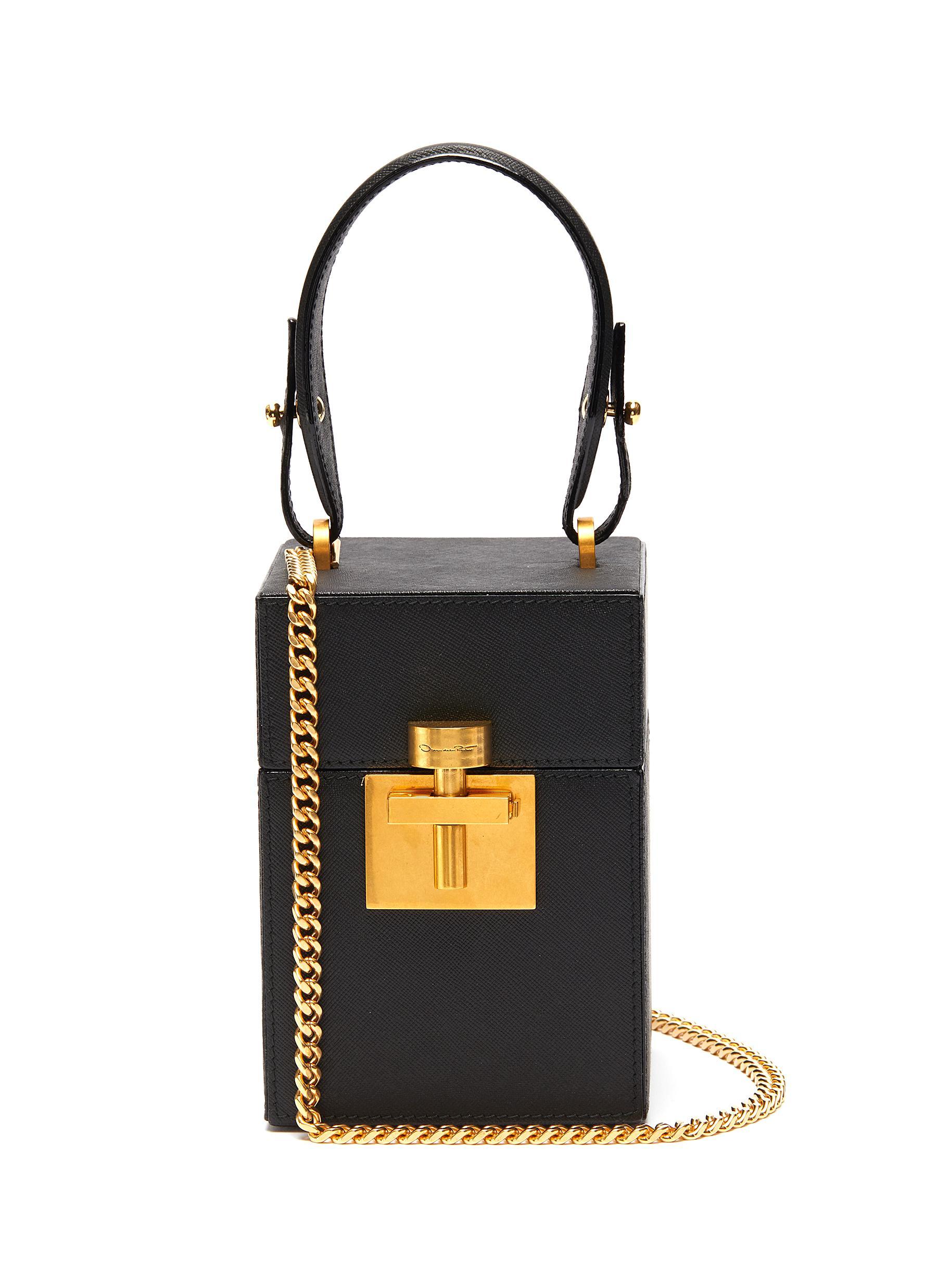 Oscar De La Renta Bags 'Alibi' mini leather box bag