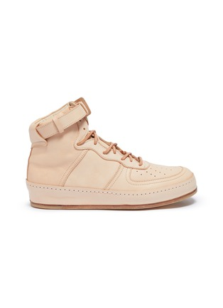Main View - Click To Enlarge - HENDER SCHEME - 'Manual Industrial Products 01' leather sneakers