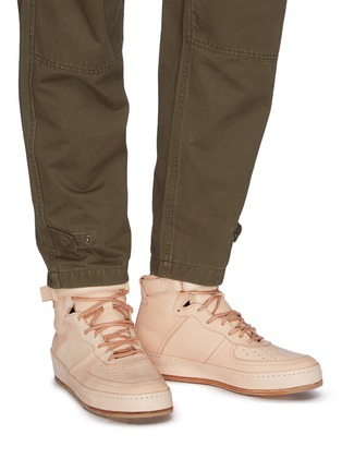 Figure View - Click To Enlarge - HENDER SCHEME - 'Manual Industrial Products 01' leather sneakers