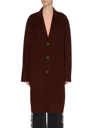 Main View - Click To Enlarge - ACNE STUDIOS - Notch lapel wool coat