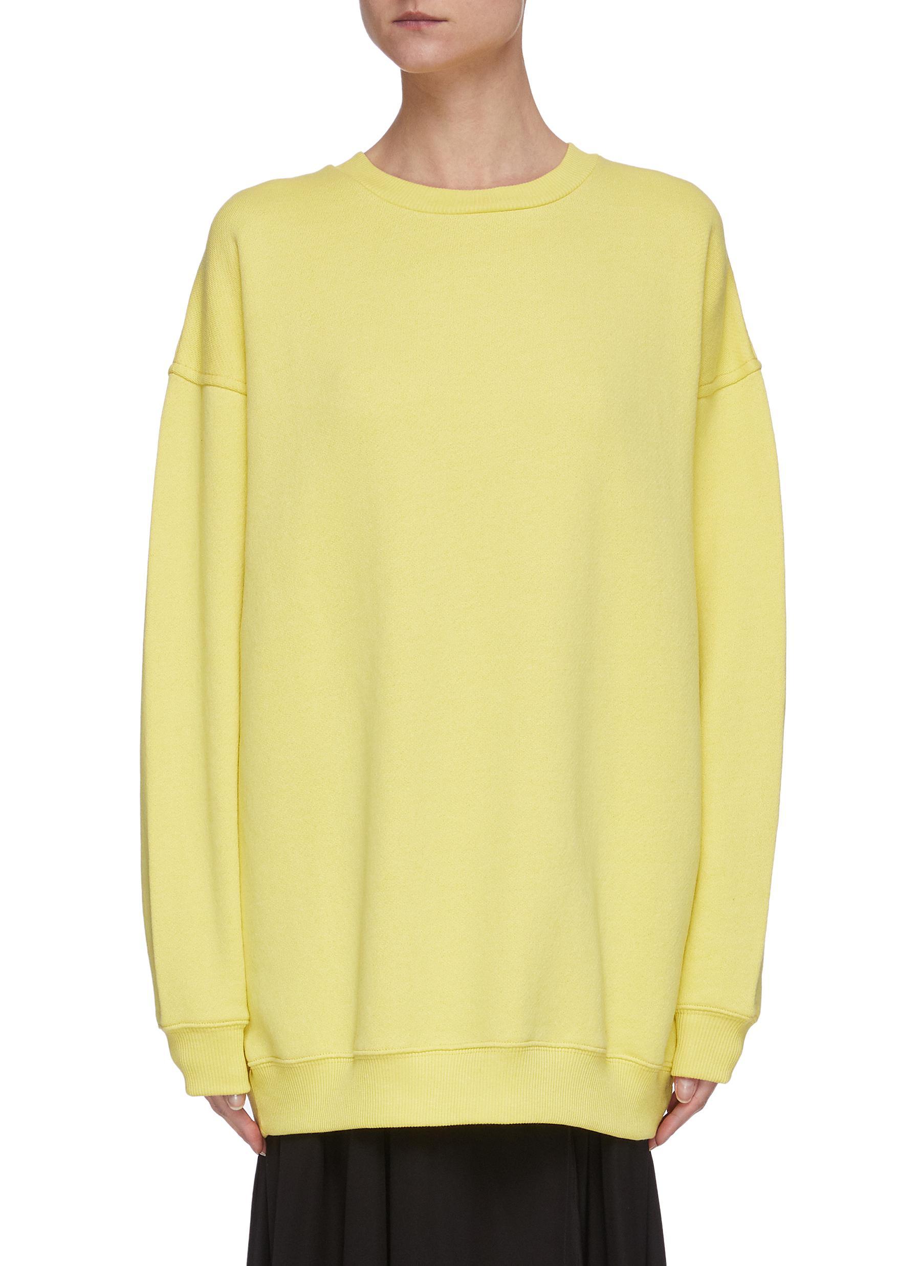 shop Acne Studios Oversized cotton sweatshirt online