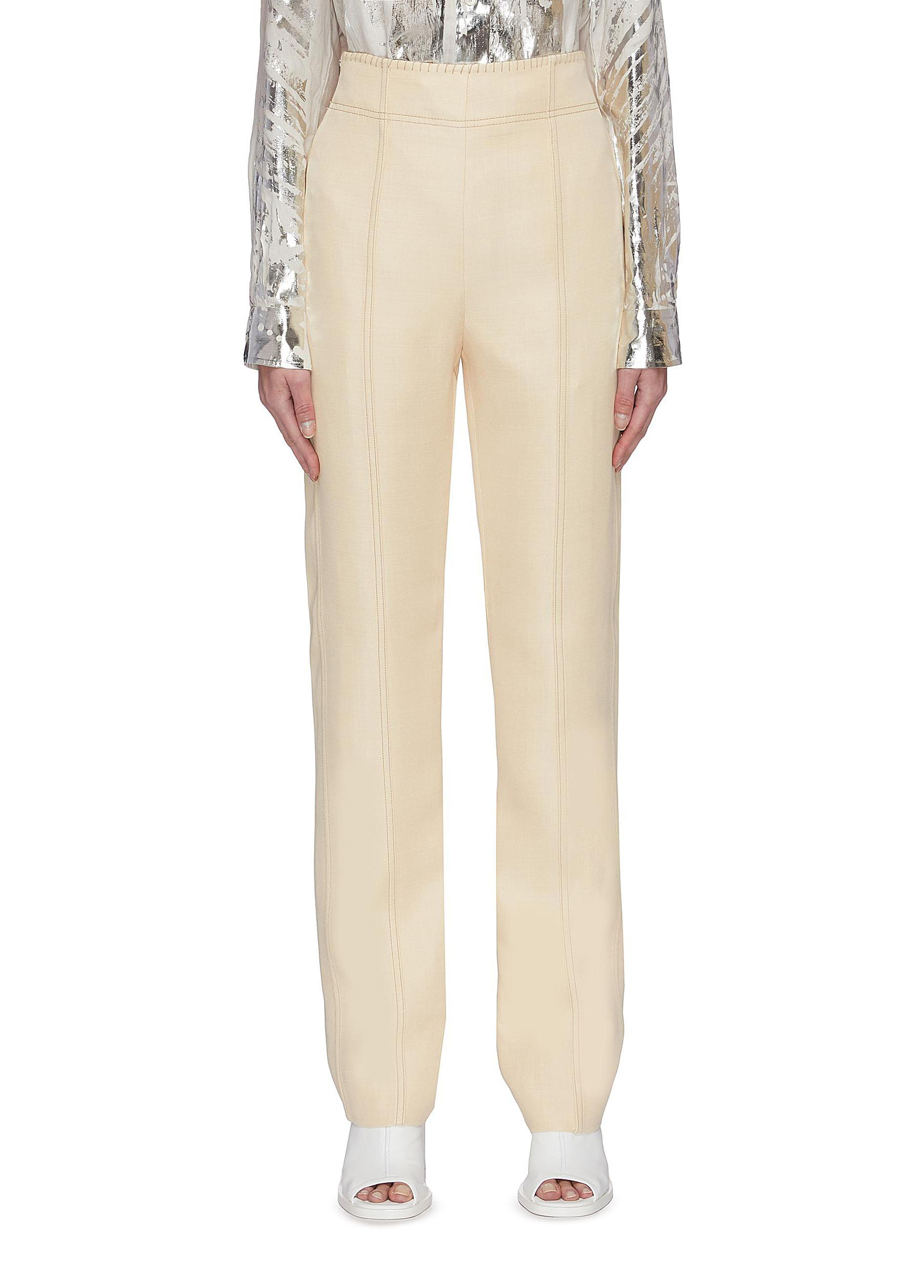 Buy Acne Studios Pants & Shorts Contrast-stitch pants