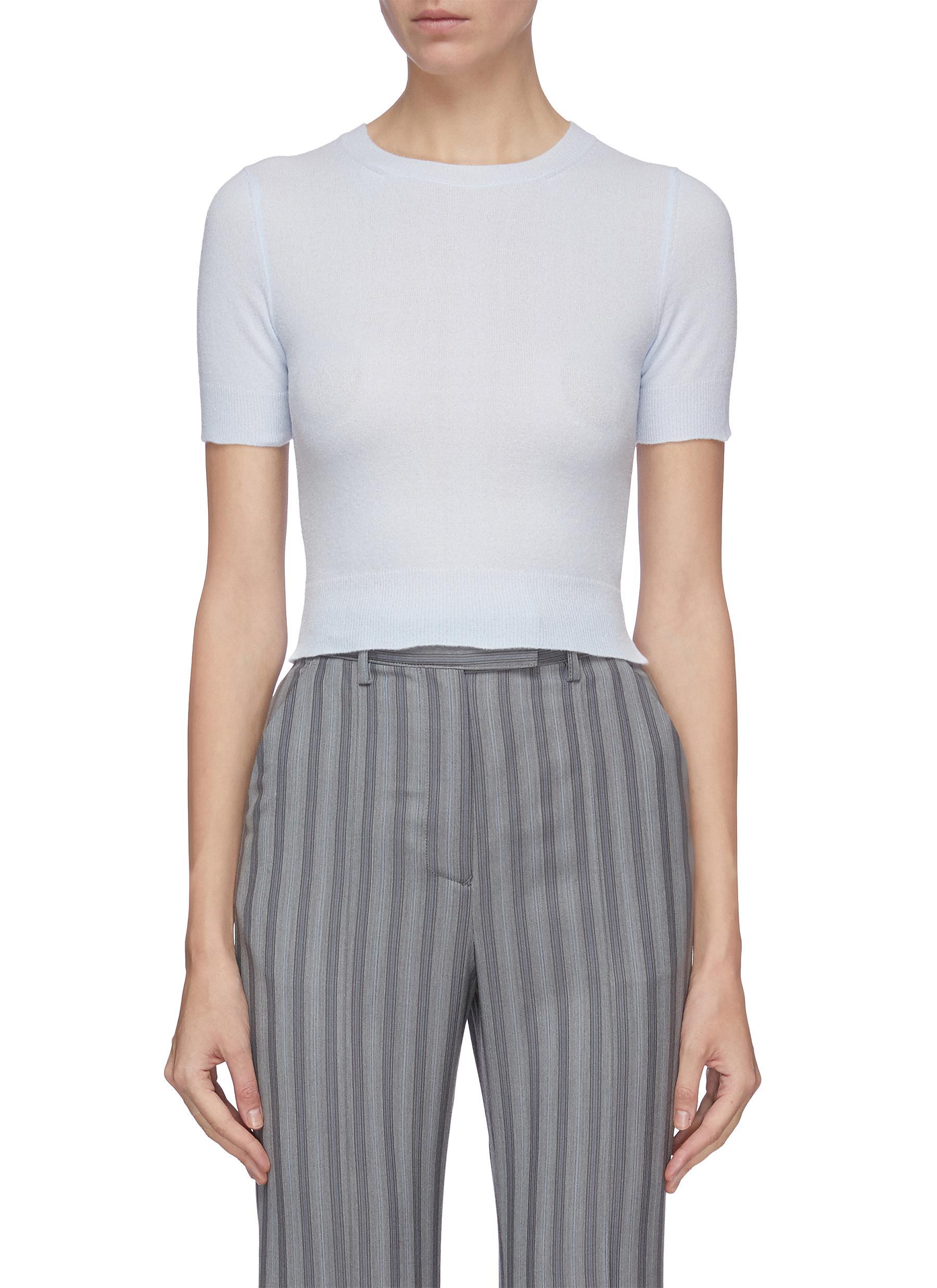 shop Acne Studios Short sleeve sweater online