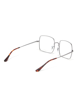 Figure View - Click To Enlarge - RAY-BAN - Metal frame square optical glasses