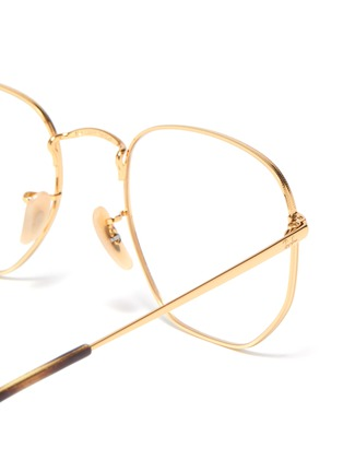 Detail View - Click To Enlarge - RAY-BAN - 'RB6448' metal frame optical glasses