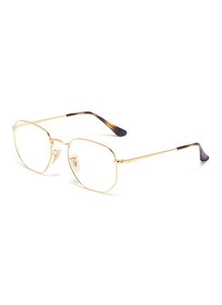 Main View - Click To Enlarge - RAY-BAN - 'RB6448' metal frame optical glasses