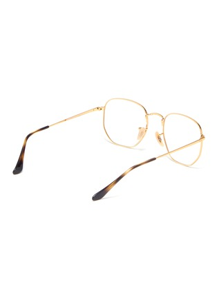 Figure View - Click To Enlarge - RAY-BAN - 'RB6448' metal frame optical glasses