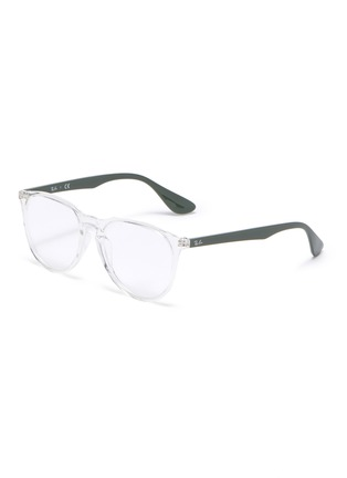 Main View - Click To Enlarge - RAY-BAN - Transparent 'D' frame optical glasses