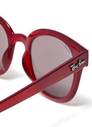 Detail View - Click To Enlarge - RAY-BAN - Acetate frame wayfarer sunglasses