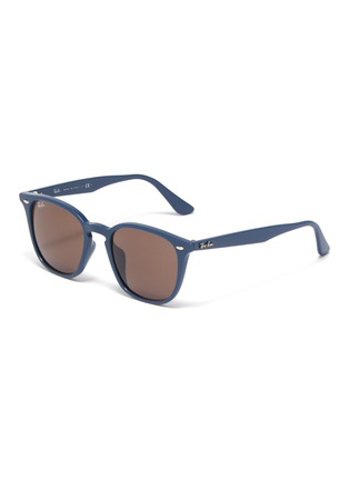 Main View - Click To Enlarge - RAY-BAN - 'RB4258' acetate frame angular sunglasses